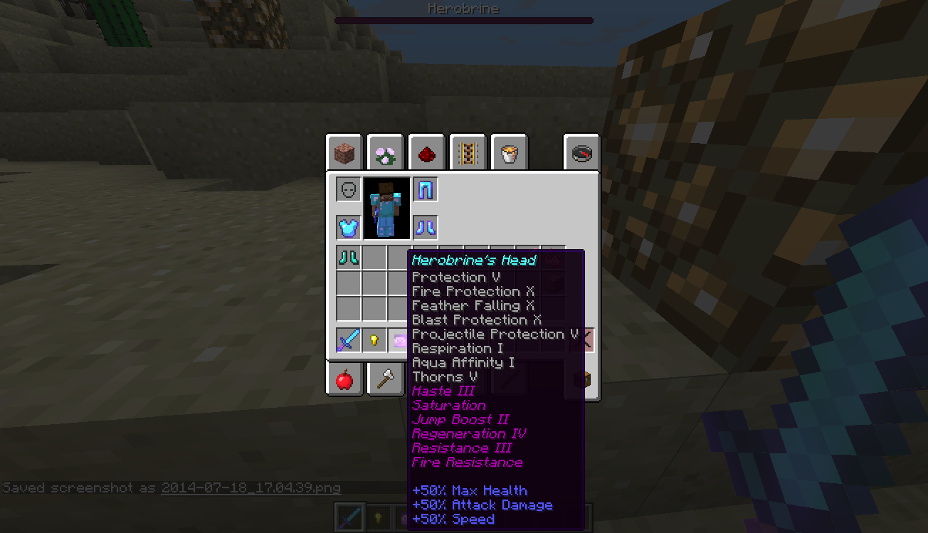 1 8] Armor with Potion Effects via command blocks - Redstone