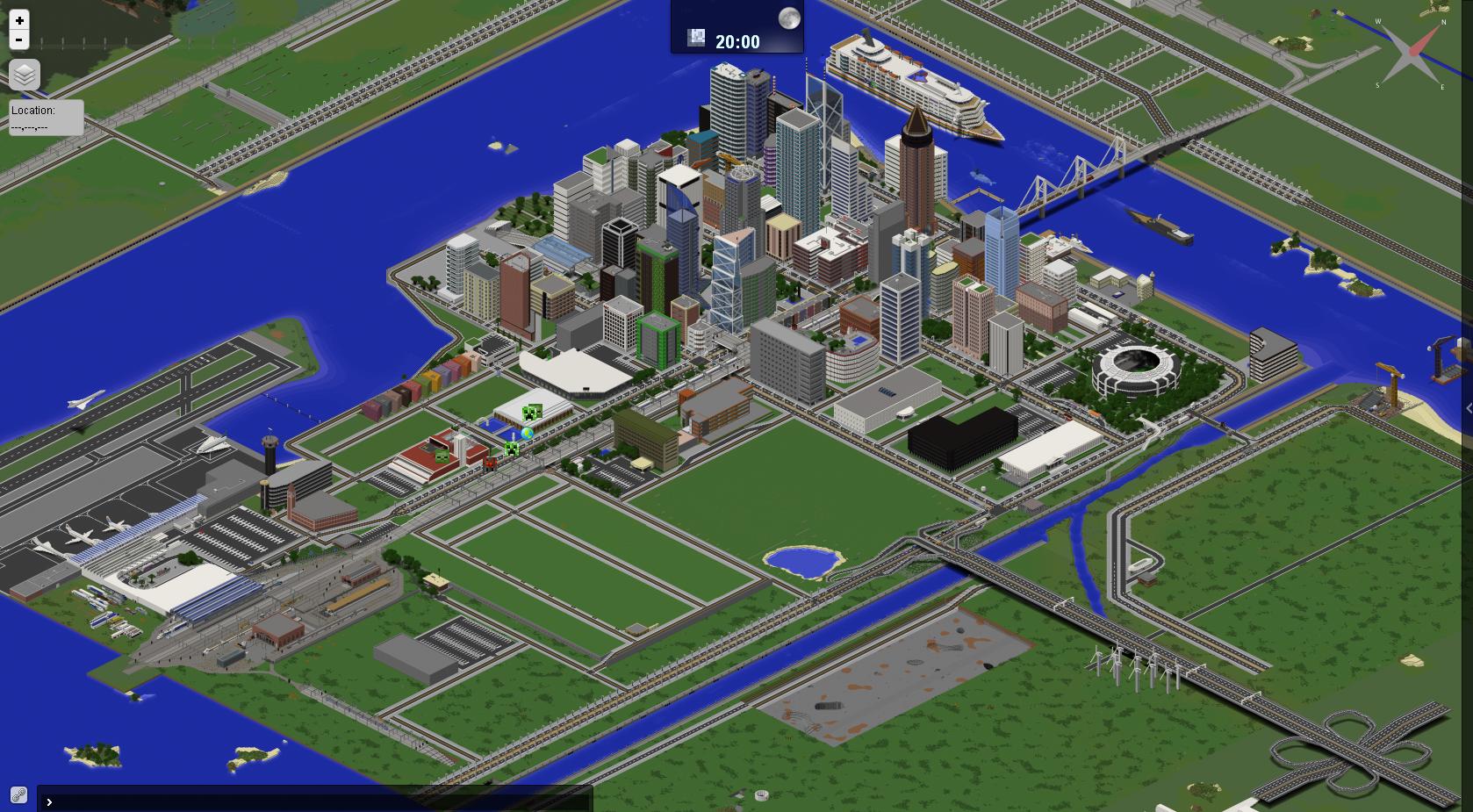 CITY MAP] Waterton | A Modern City [V 0.1.7] 50K+ Downloads! - Maps ...