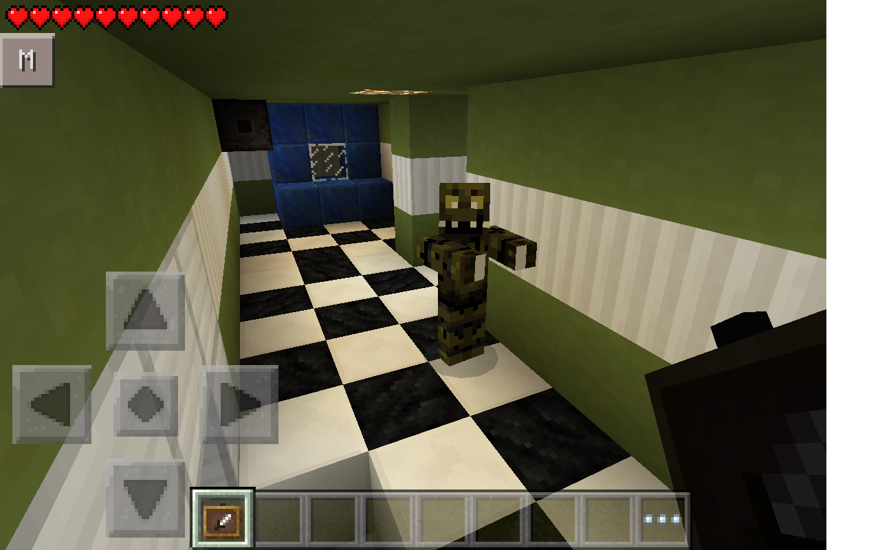 FNAF 3 IS FINALLY HERE IN POCKET EDITION WITH AN ACTUAL FNAF 3 MAP