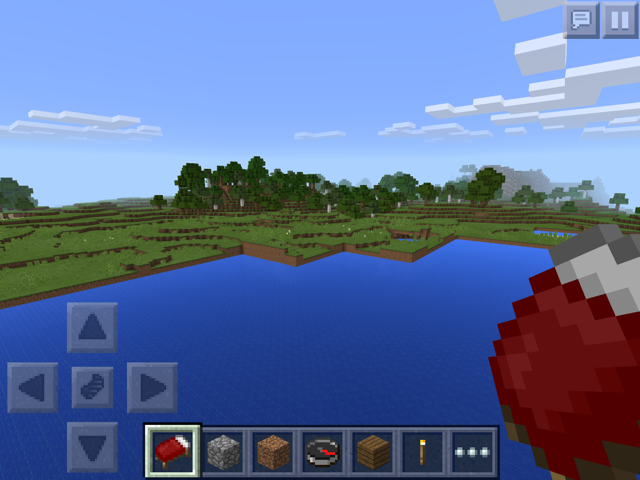 AMAZING Seed-Square Edges, Flooded, VERY Unique! - MCPE
