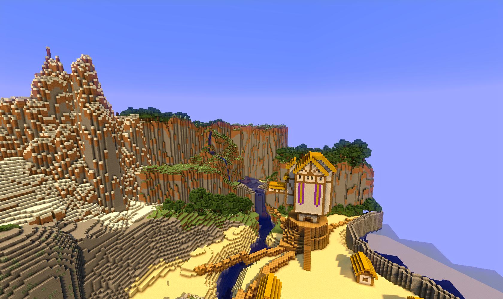 minecraft piggy island