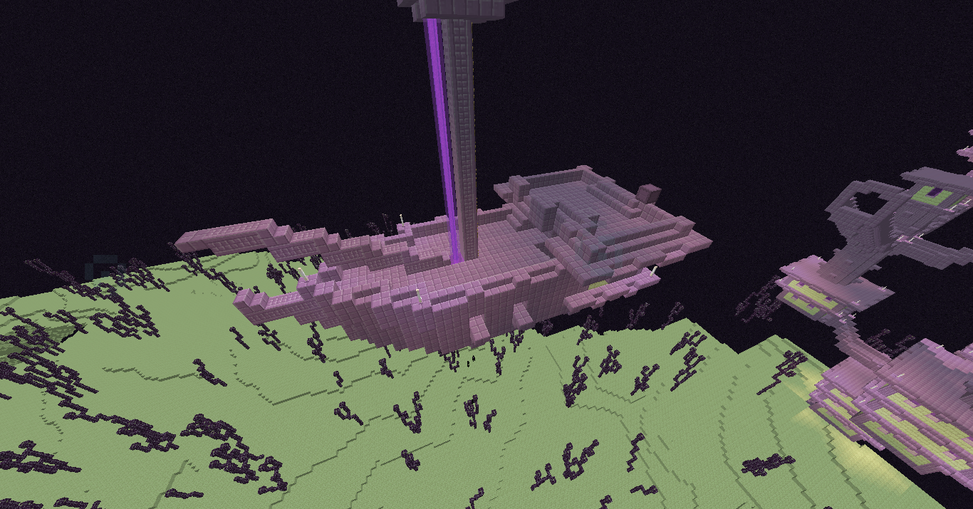 The Ender ship!! - Recent Updates and Snapshots - Minecraft