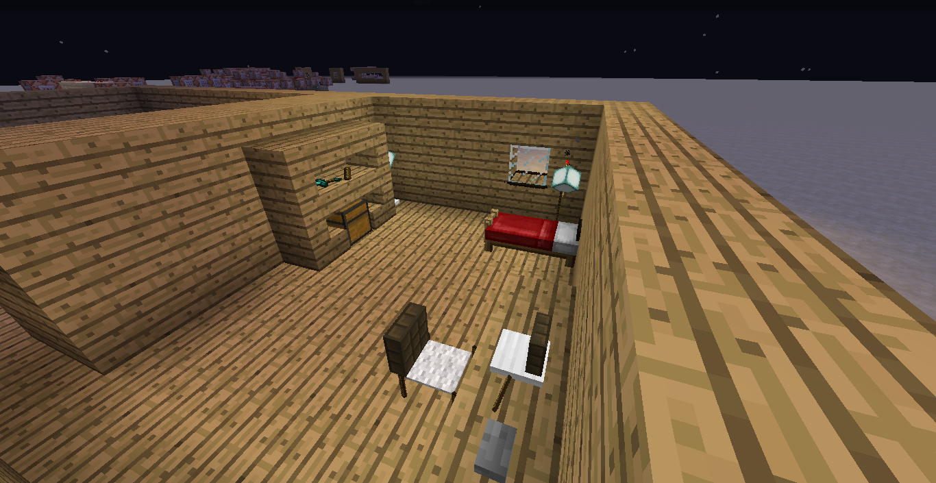 Vanilla furniture!!! [Decorate your Home With Command Blocks] - Maps