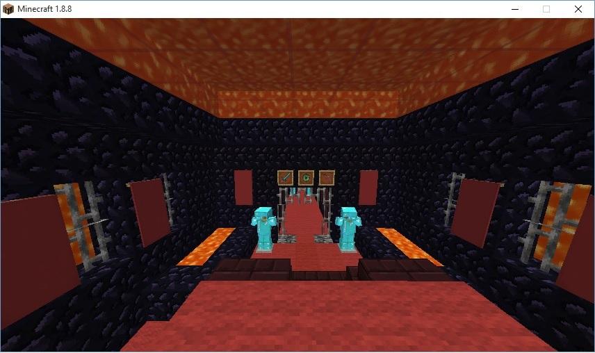 Nicer End Portal Room - Creative Mode - Minecraft: Java Edition