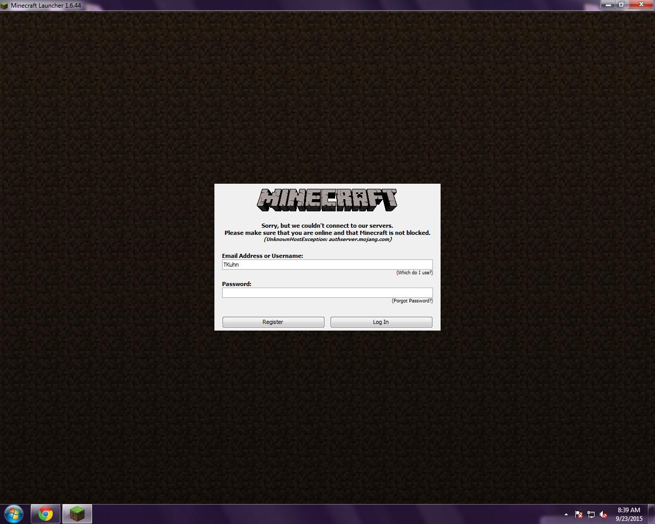 Minecraft Login Error - Java Edition Support - Support - Minecraft