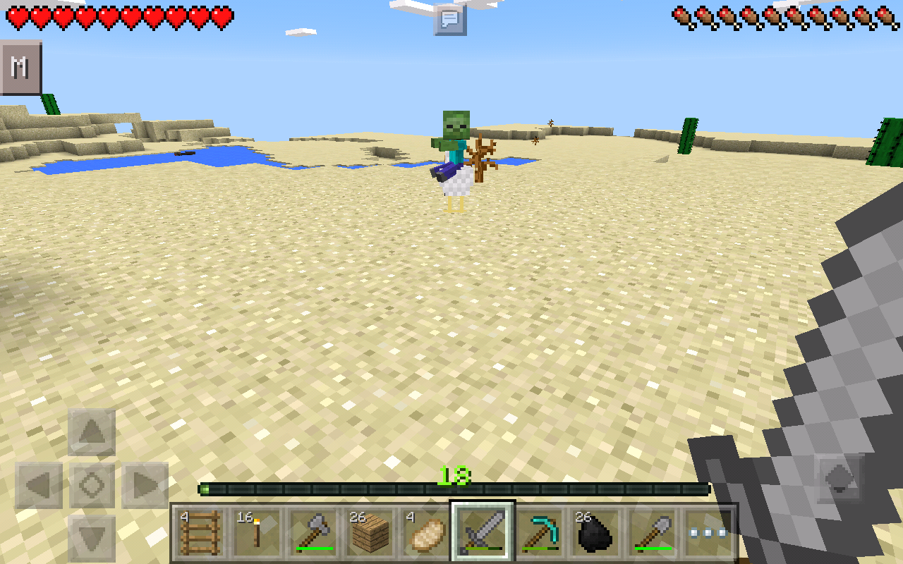 mobs in minecraft pocket edition