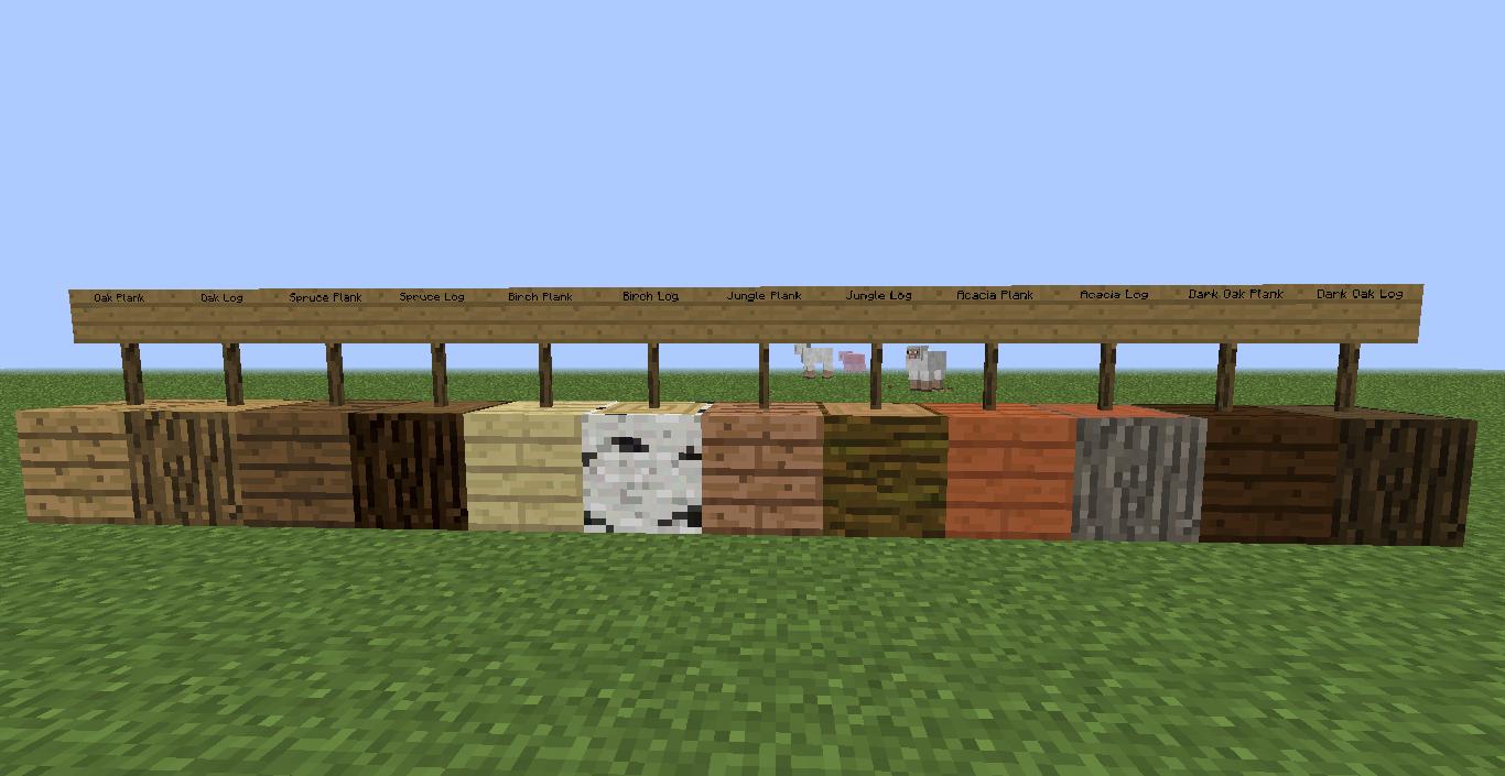 Favorite Wood Type? - Survival Mode - Minecraft: Java Edition