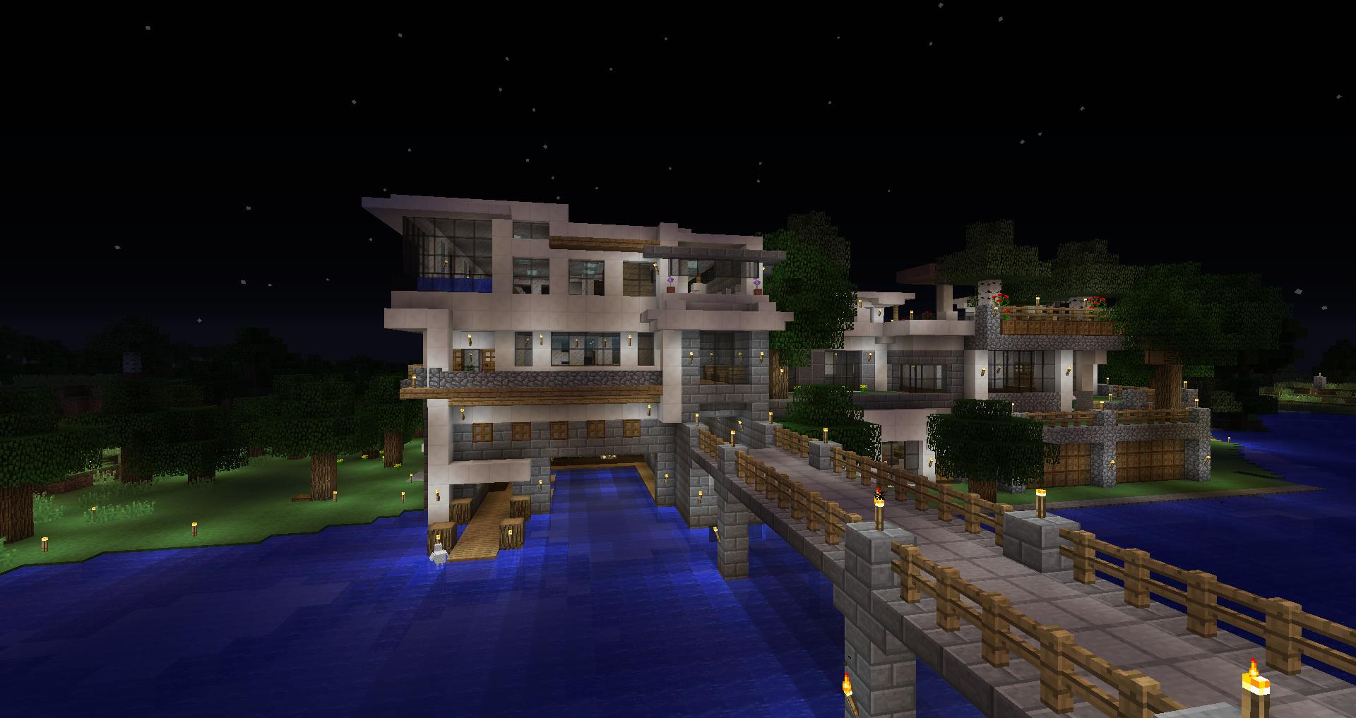 Luxury Survival House Screenshots Show Your Creation Minecraft Forum Minecraft Forum