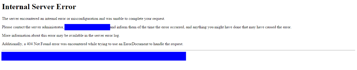 Multicraft > Error 500 when trying to run the install php on
