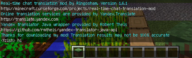 1 7 10-1 12 2] Real Time Translation Mod! Break the language