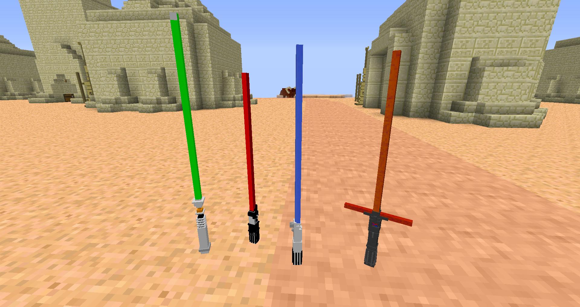 minecraft 1.7.10 star wars mod