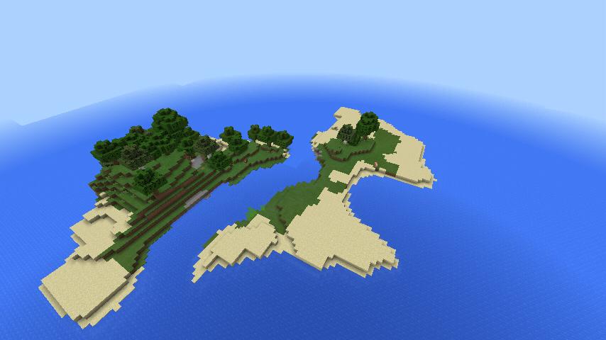 The perfect Survival Island seed 0 14 0 - MCPE: Seeds - MCPE