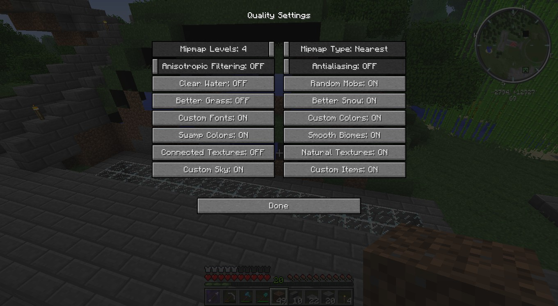 Optifine better grass always on despite settings - Java Edition