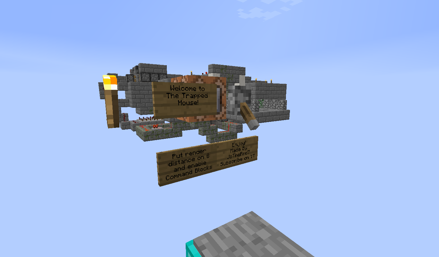 The Trap House Minecraft Map Maps Mapping And Modding Java Edition Minecraft Forum Minecraft Forum