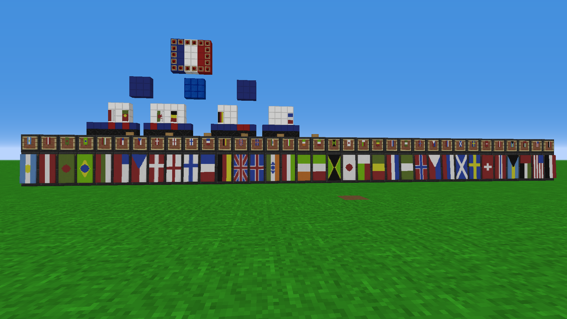 Country Flags Using Banners And Their Crafting Recipes Discussion Minecraft Java Edition Minecraft Forum Minecraft Forum