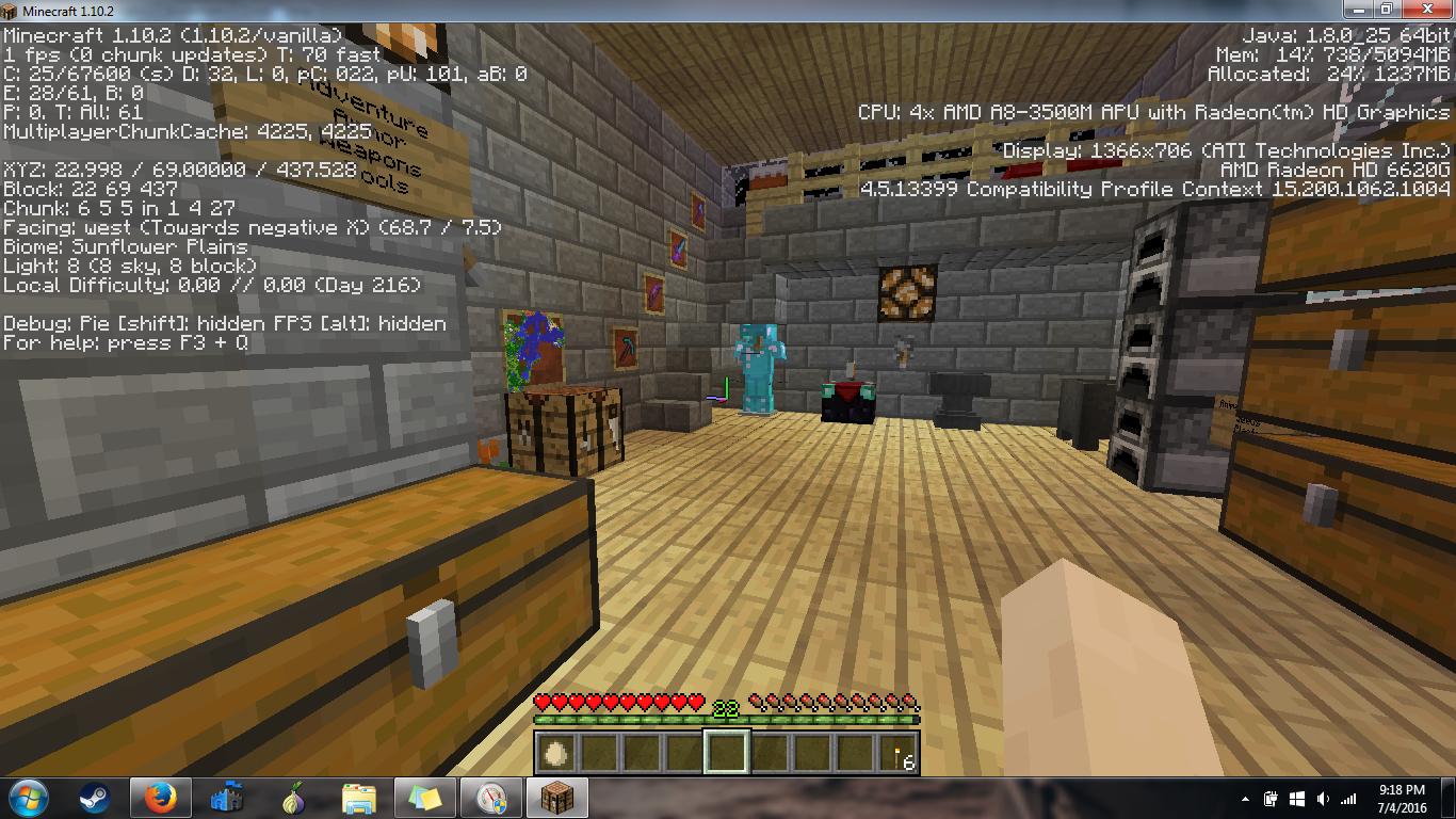 Amd Minecraft Low Fps