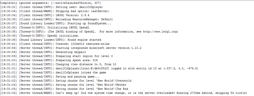 minecraft java(tm) platform se binary has stopped working