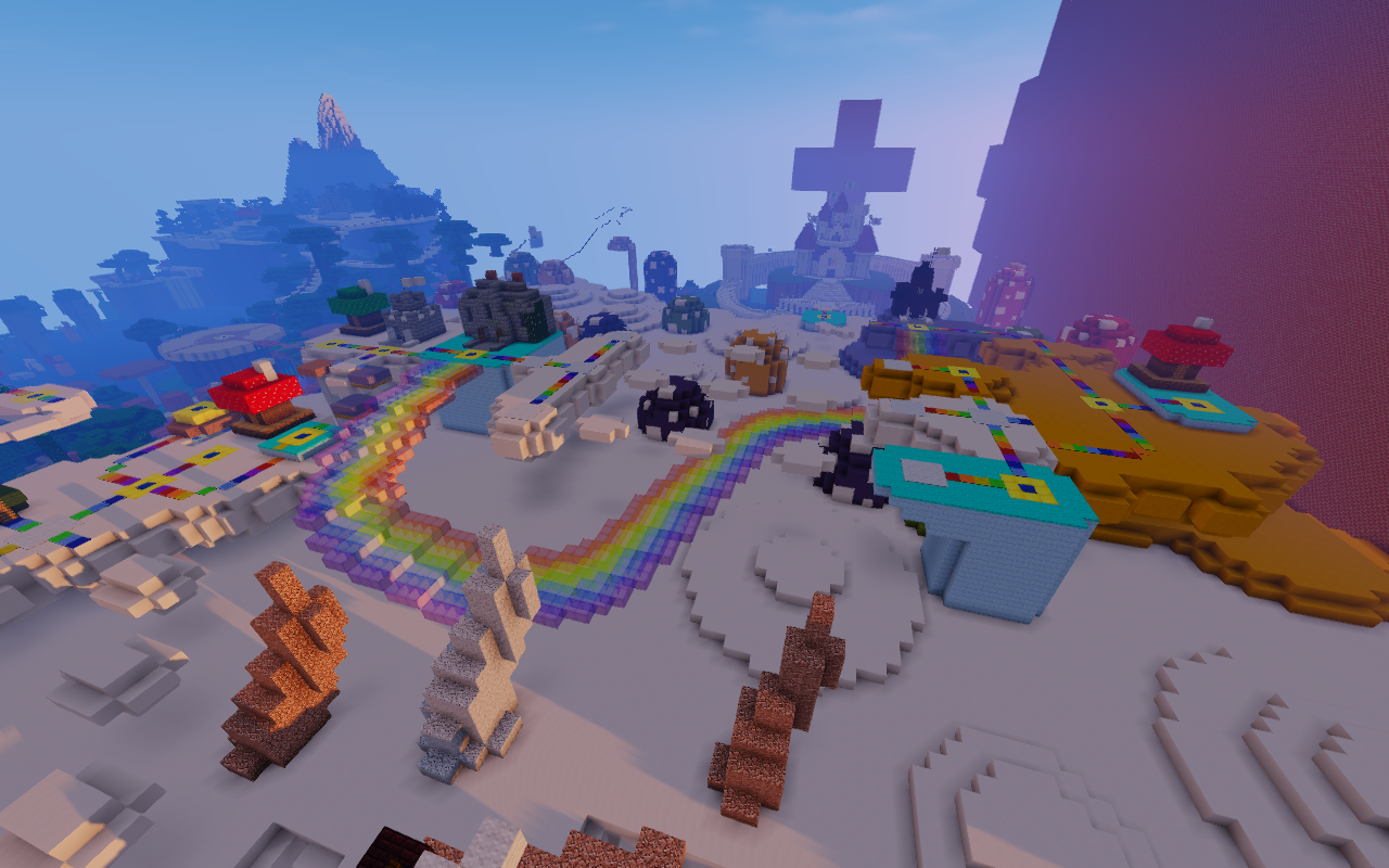 New Super Mario Bros. U + Minecraft - Maps - Mapping and ...