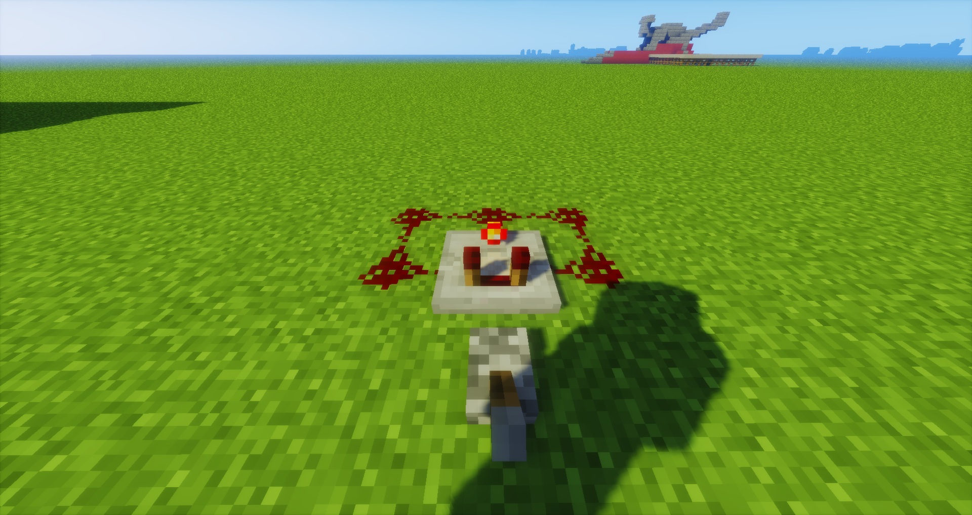 WHATS THE SMALLEST REDSTONE CLOCK THAT I CAN MAKE - Redstone