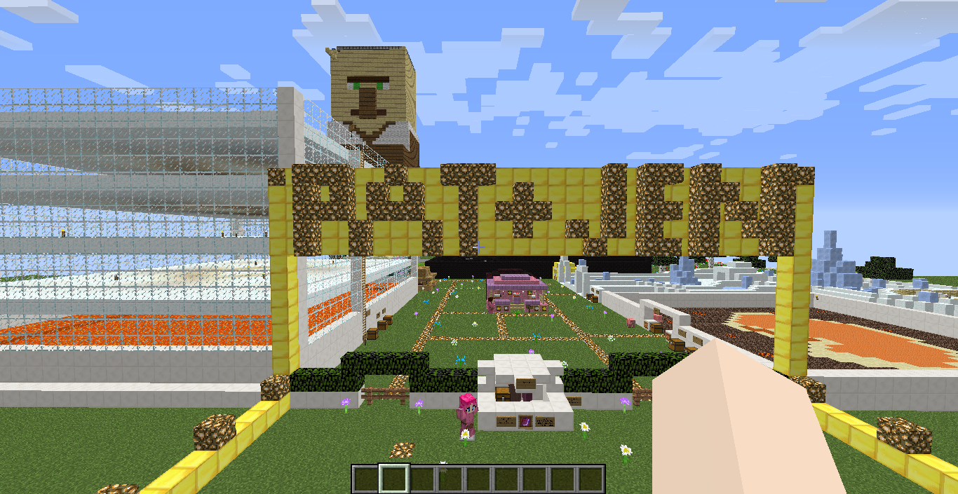 Giant Villager Burning Map (for PopularMMOS) - Maps - Mapping and