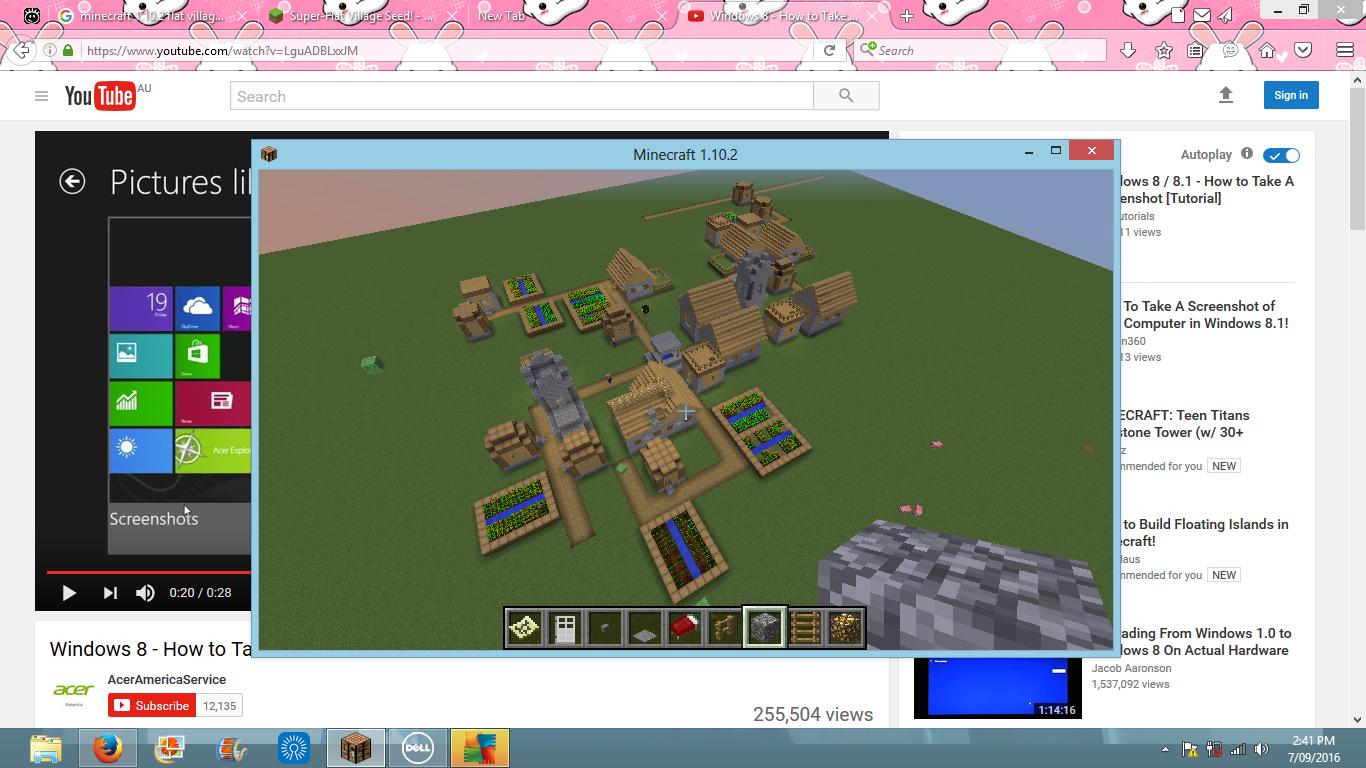 Super Flat Village Seed Seeds Minecraft Java Edition