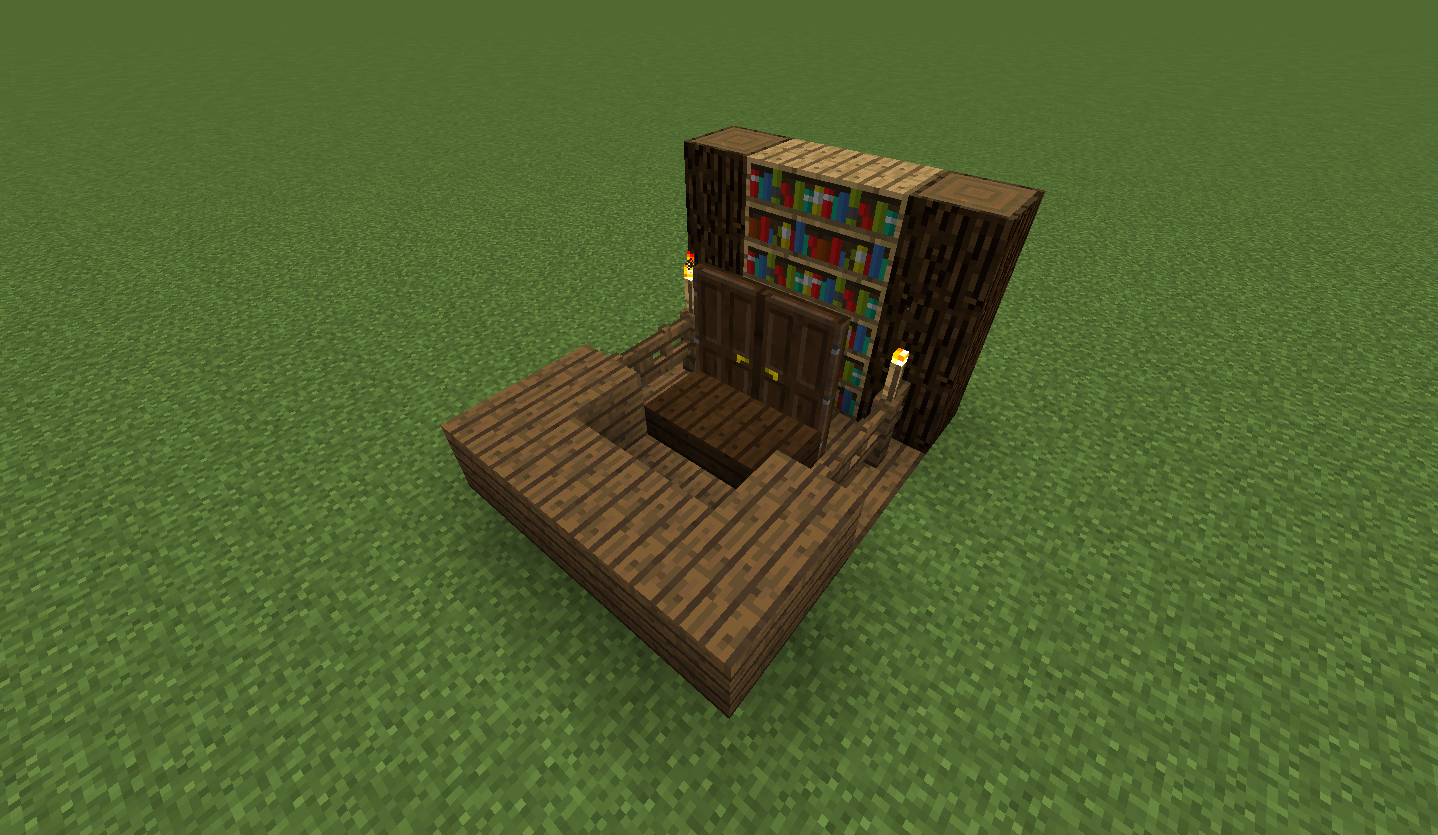 How To Build A Judge S Bench Creative Mode Minecraft Java