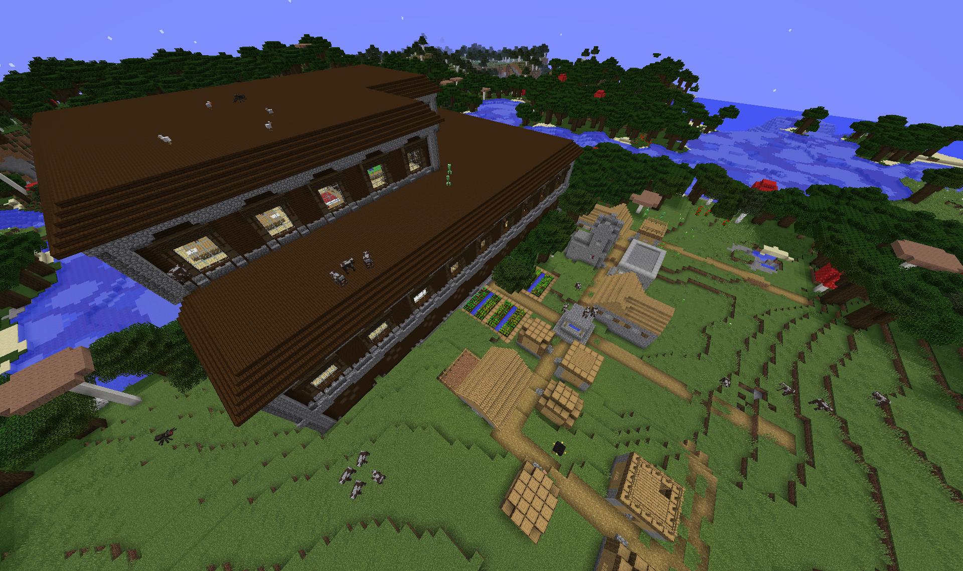 1 11 Woodland Mansion Recent Updates And Snapshots Minecraft