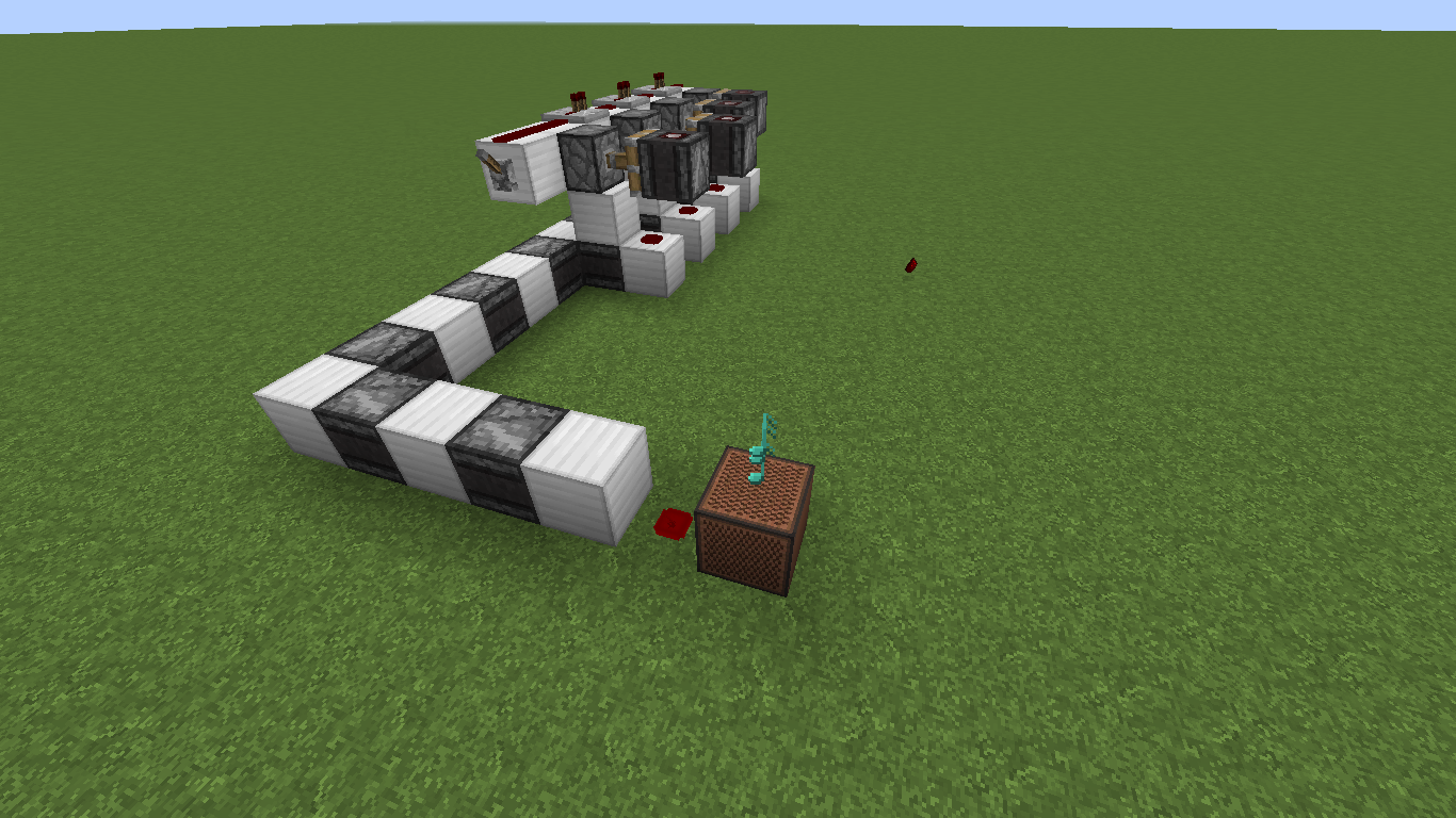 simple 20Hz clock in 1 11 using observer - Redstone Discussion and