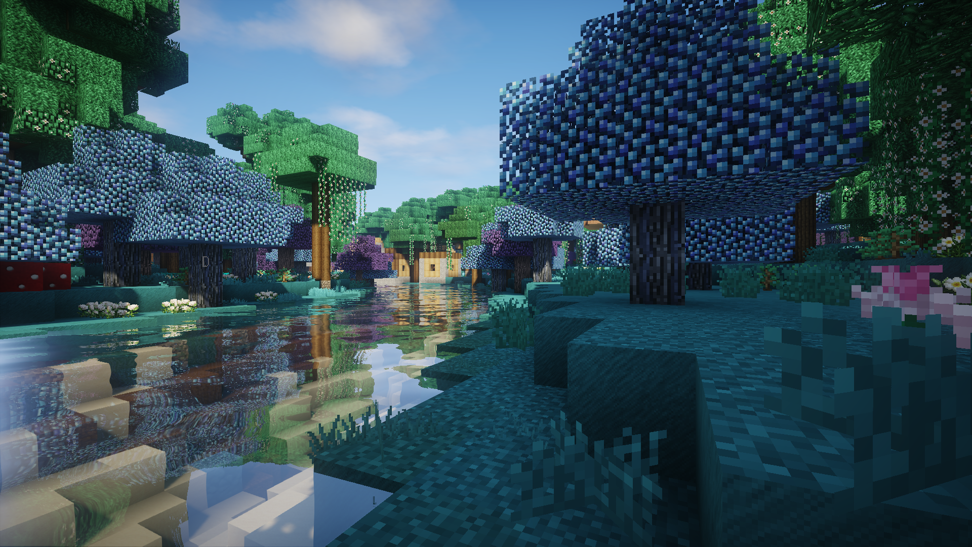 Biomes O' Plenty - Over 50 new biomes, with new trees, plants, mobs