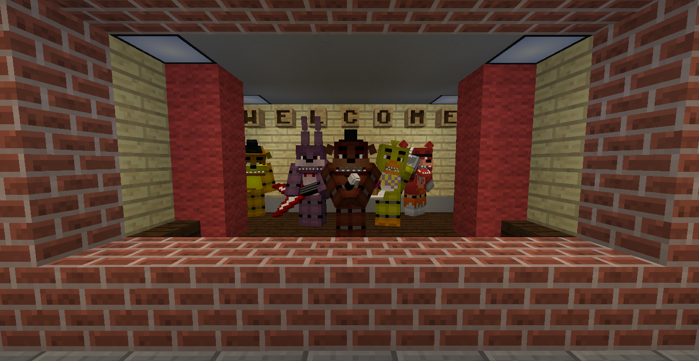 FNaF Map(inspired by Subzeroextabyte,Cavemanfilms and