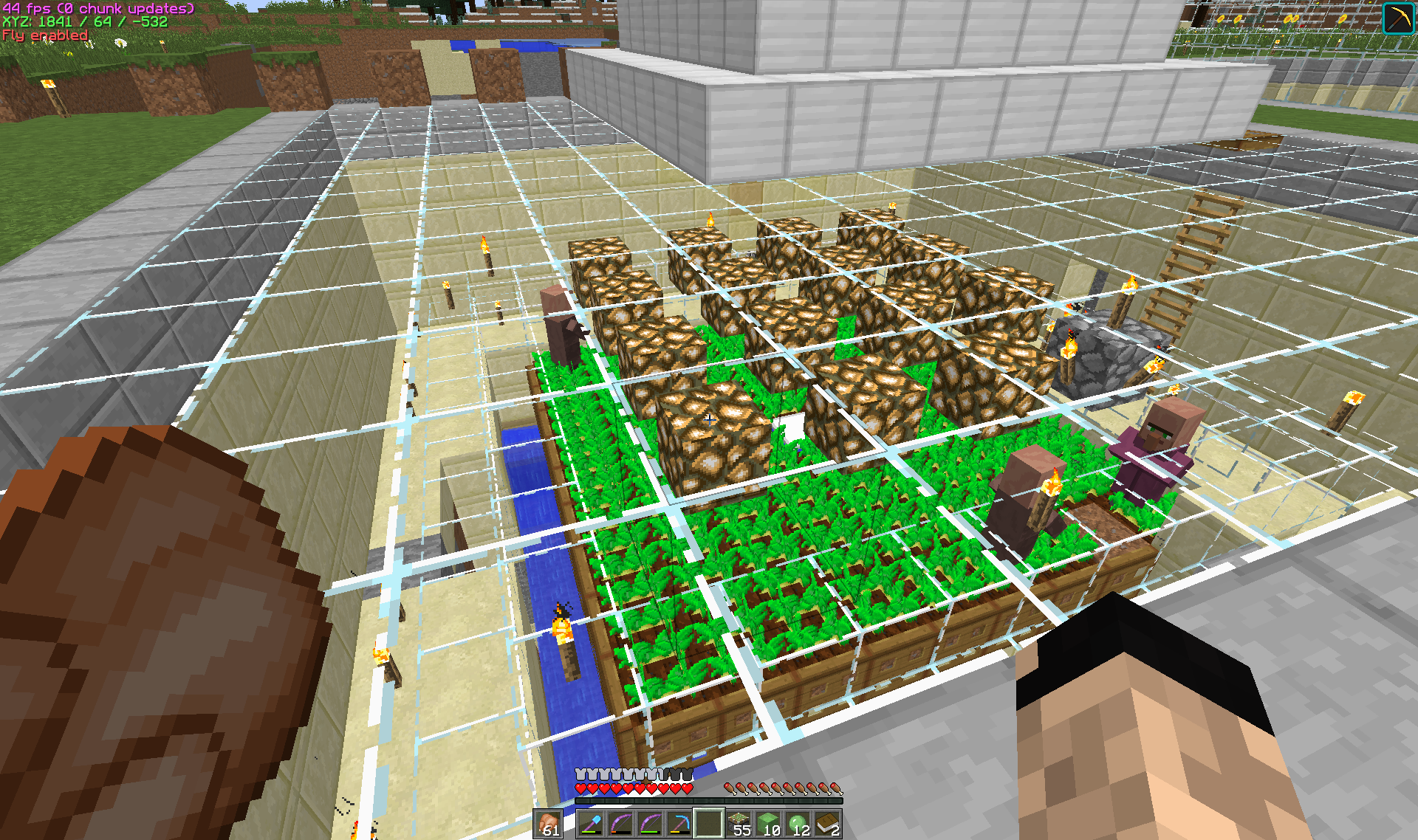 My villagers are not breeding - Survival Mode - Minecraft