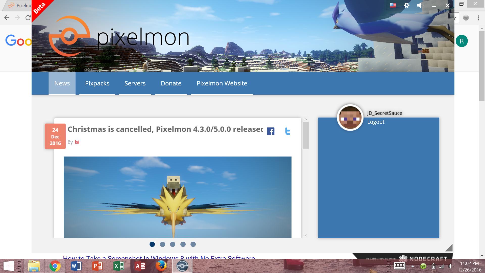 pixelmon extra mods