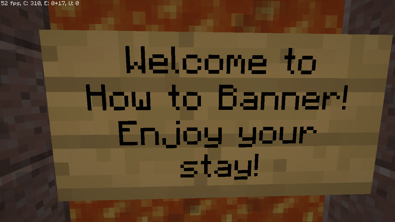 How to Banner (Minecraft 1 11 2 Map) - Maps - Mapping and Modding