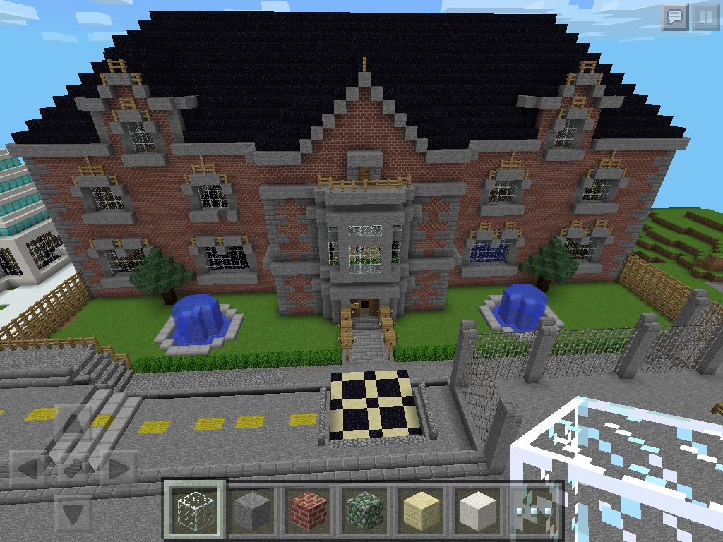 New  York City High School  - MCPE: Show Your Creation - Minecraft