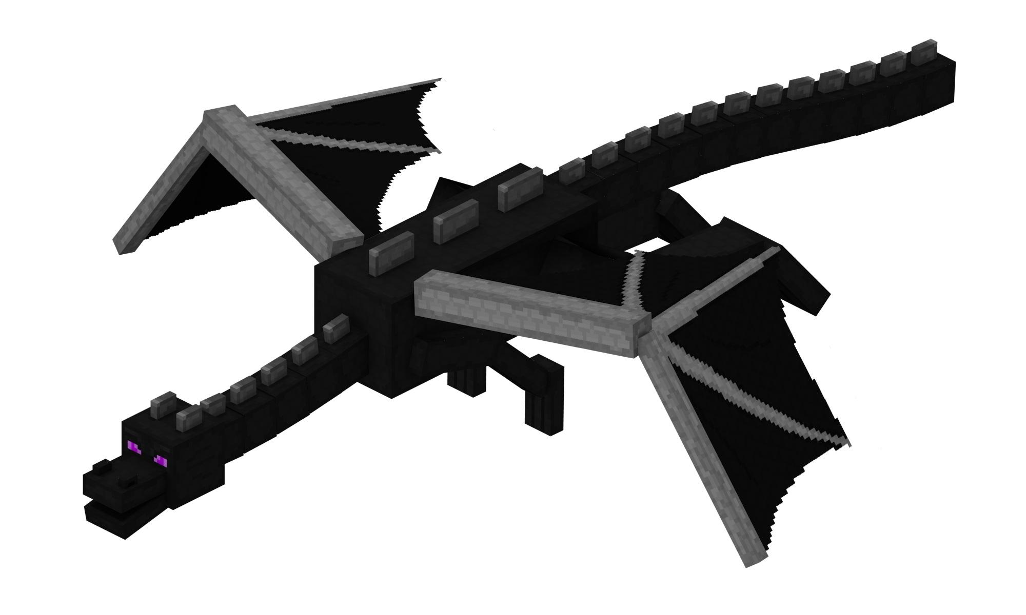 Картинки майнкрафт дракон эндера