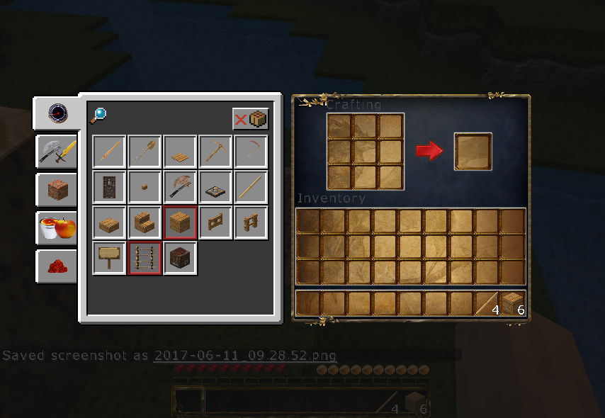 No recipe book showing in inventory - Java Edition Support - Support
