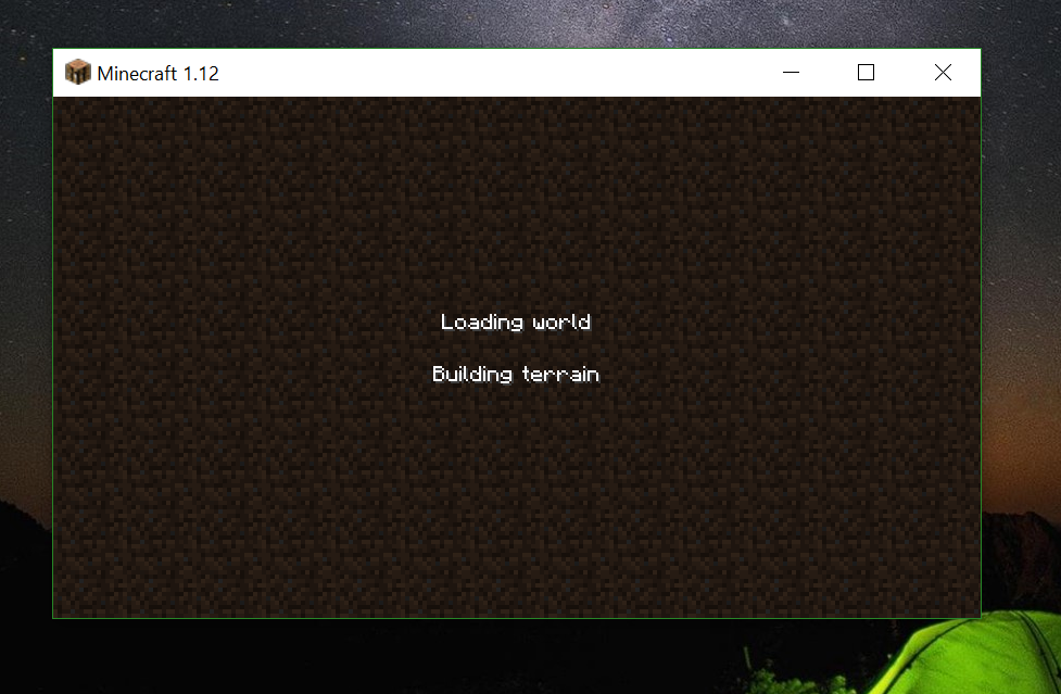 Minecraft Is Stuck On Loading Screen Forever And Cant Join