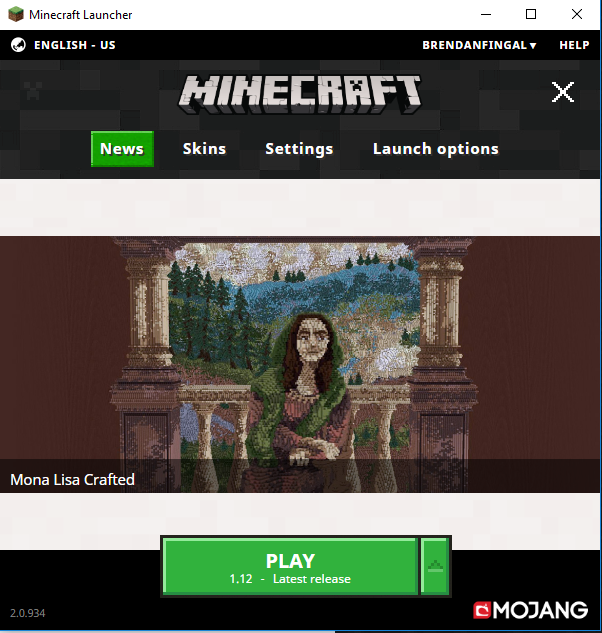 Minecraft is stuck on loading screen and then says not
