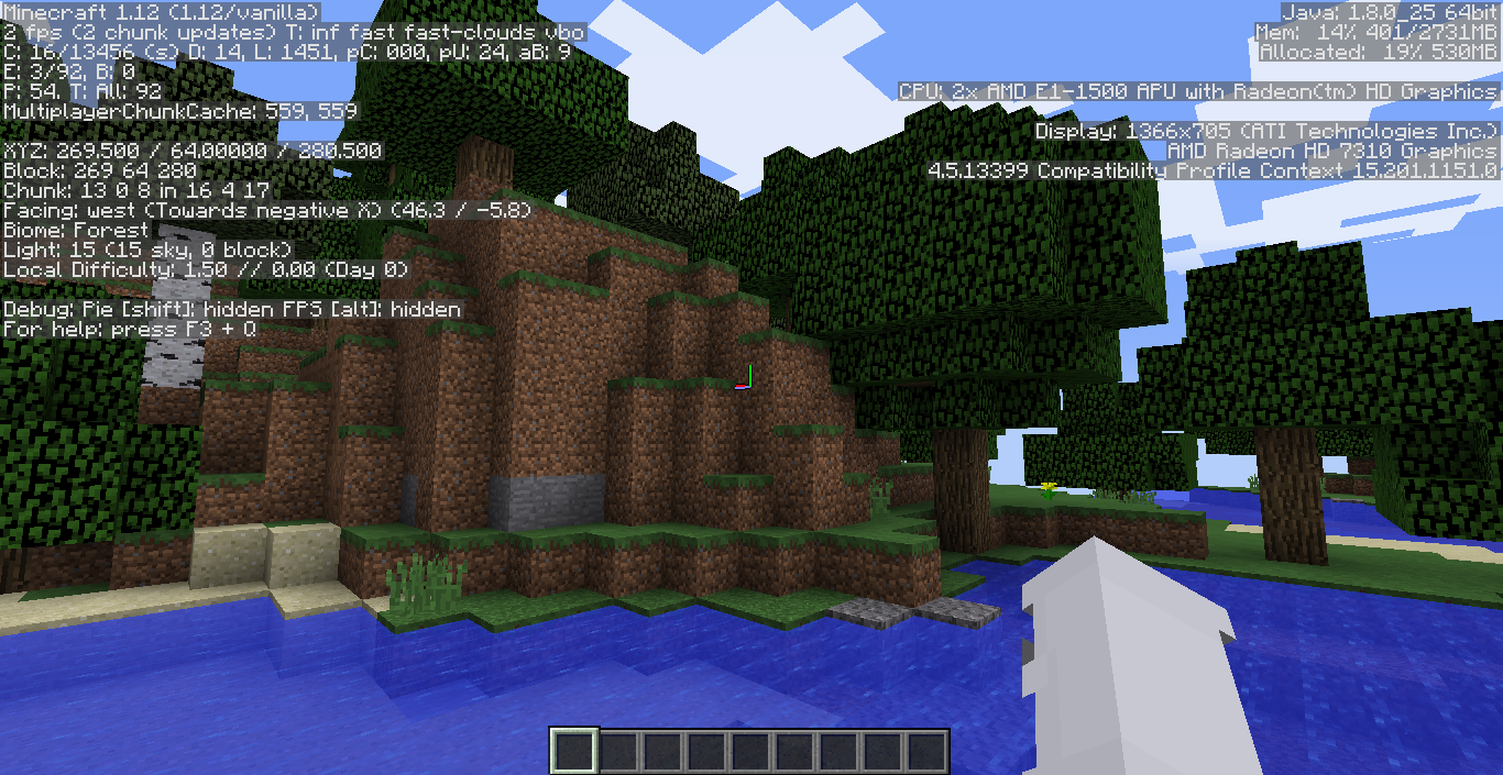 Minecraft running at 0-5 fps tops - Java Edition Support - Support