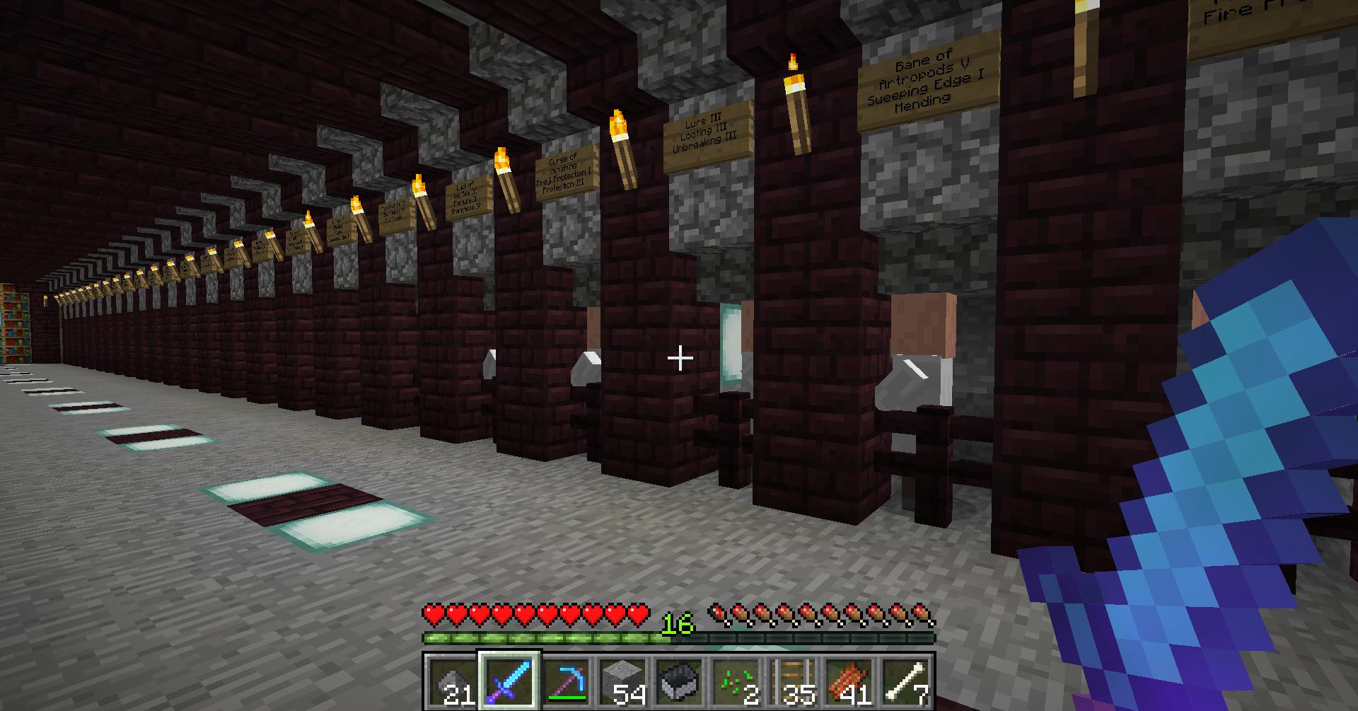 Asking everyone's input about Blacksmith armorer villager