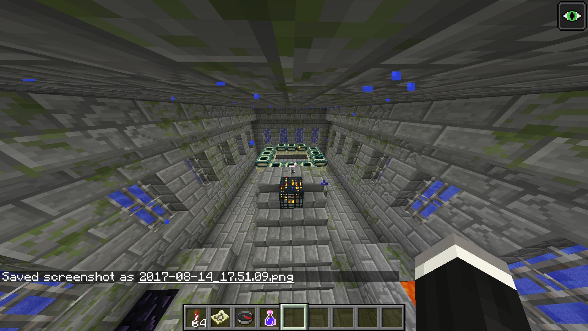 I found an underwater end portal!! - Survival Mode