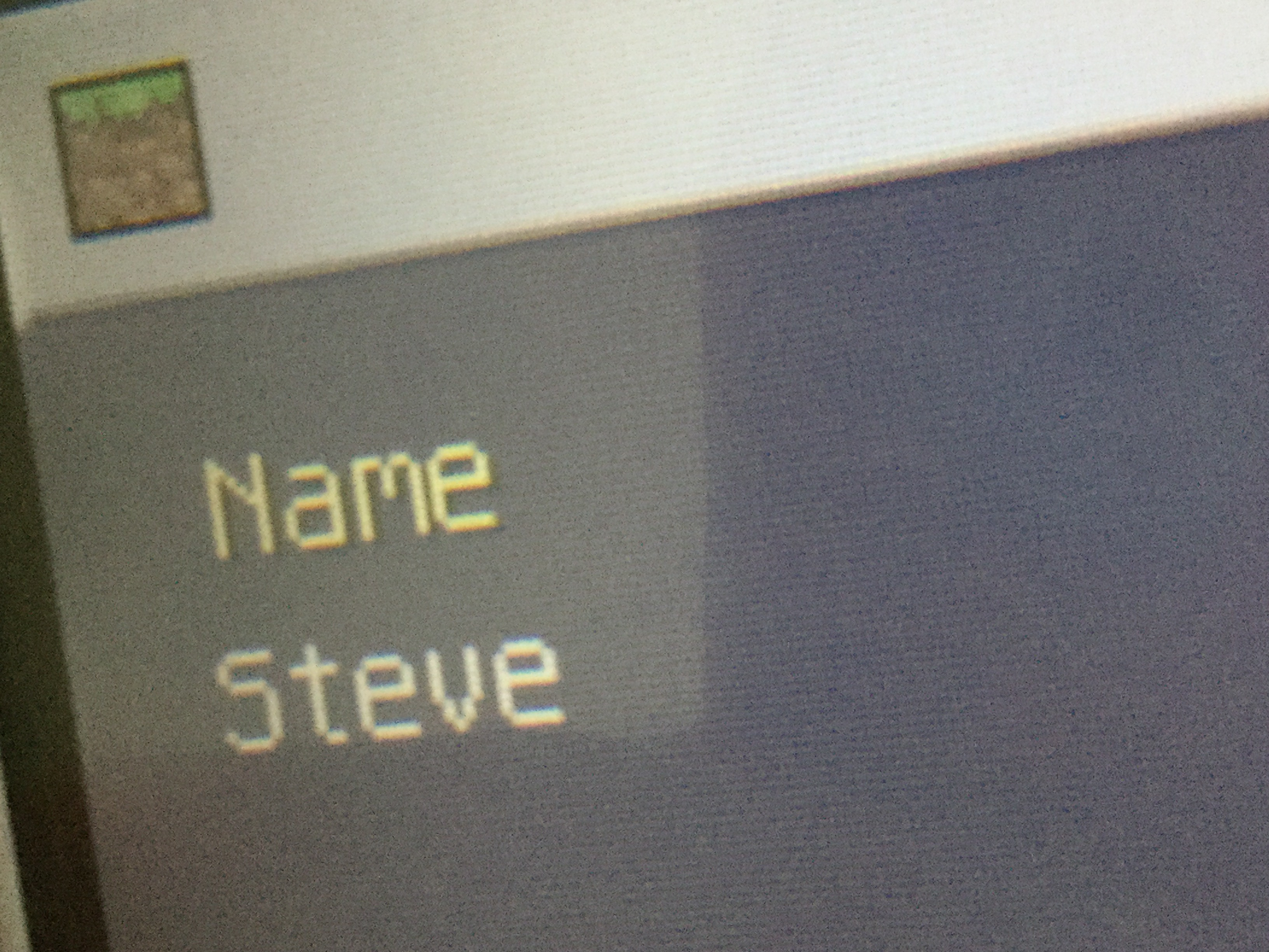 How do I change my name? - Minecraft: Nintendo 3DS Edition
