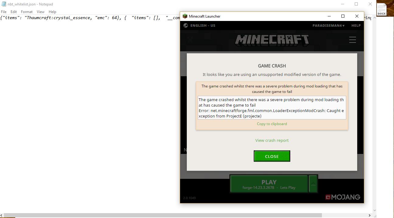 ProjectE - Equivalent Exchange 2 (EE2) for modern Minecraft