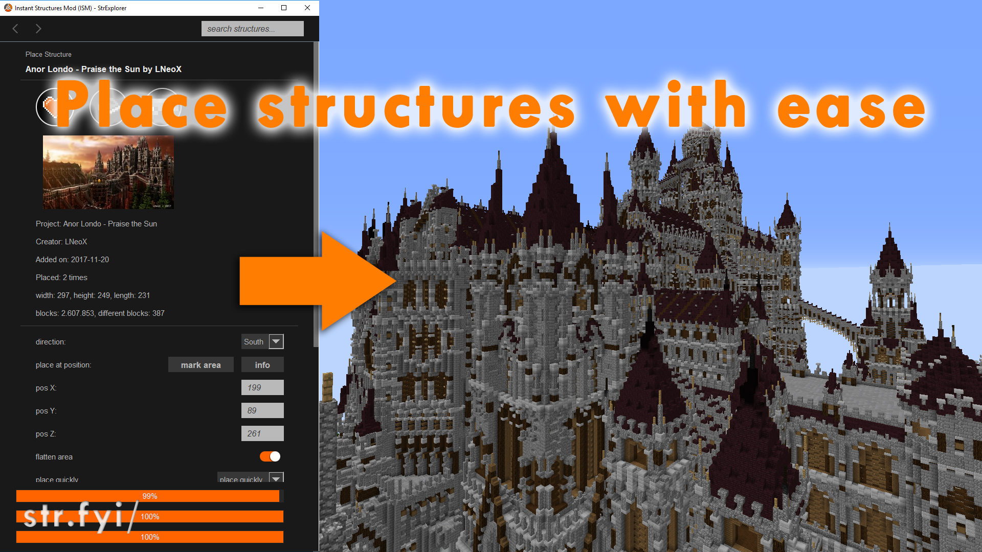 Instant Structures Mod Ism By Maggicraft 40 000