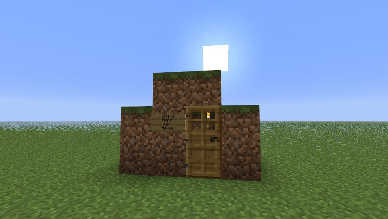 Dirt House - Maps - Mapping and Modding: Java Edition - Minecraft