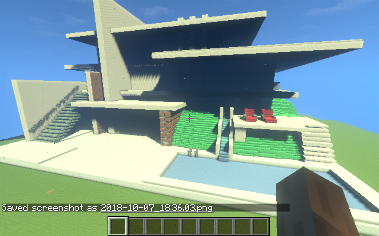The Modern Mansion - MInecraft map - Maps - Mapping and