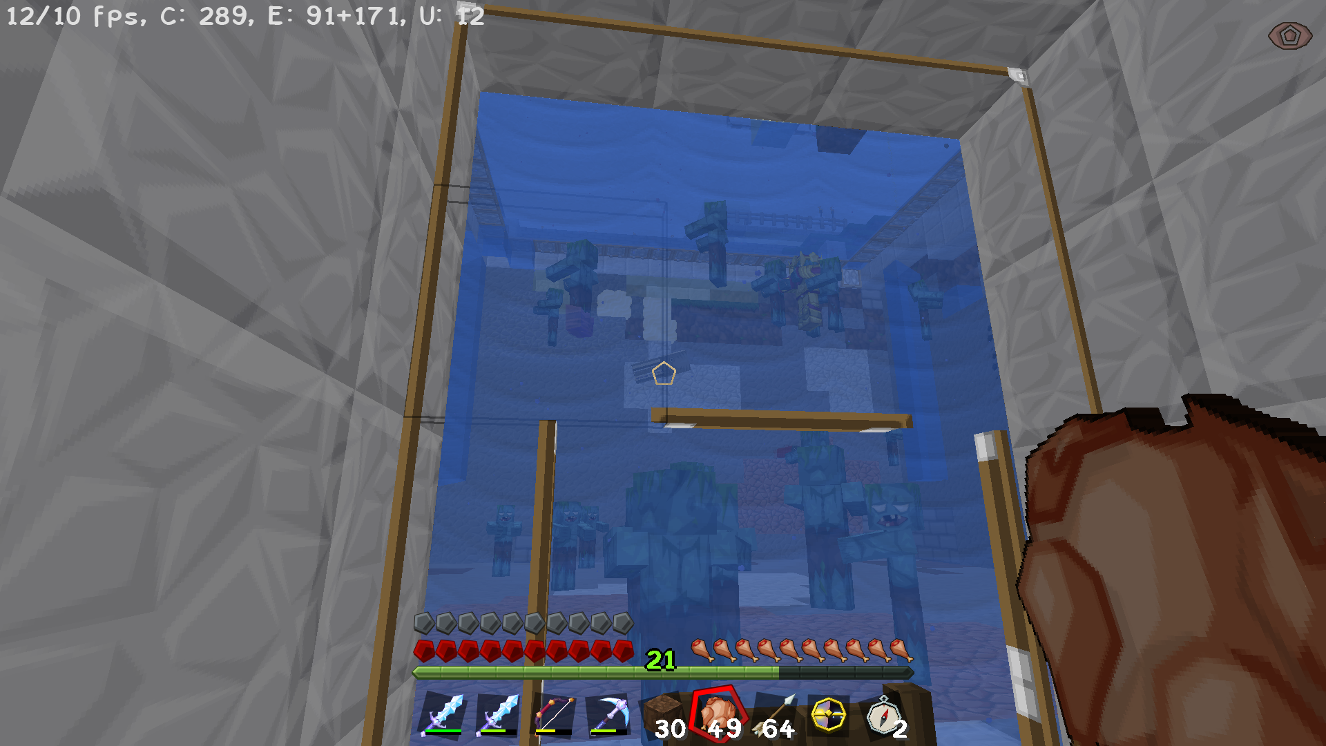 Drowned mob spawns are quite low - Survival Mode - Minecraft: Java