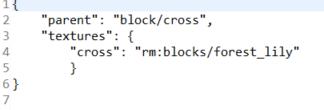 block model json