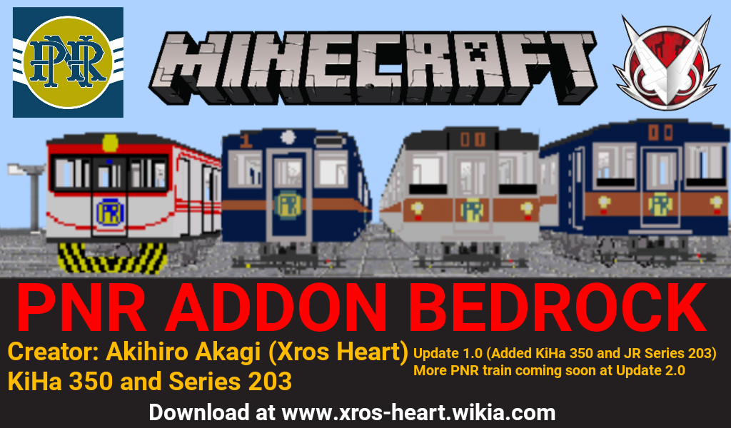 Philippine National Railway Addon for Bedrock Edition - MCPE