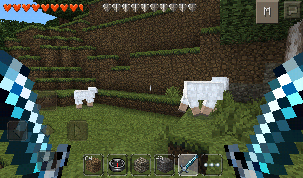Minecraft Pocket Edition (Dual Weild Addon Mod) ( Android